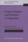 Corpus Analysis and Variation in Linguistics